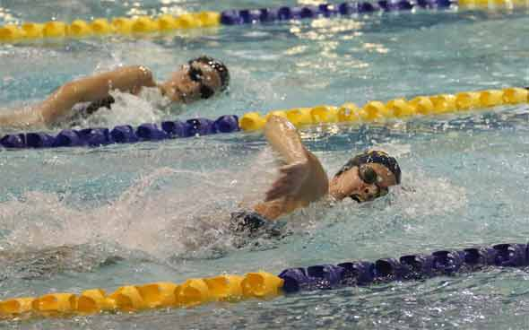 Try out various types of strokes while swimming