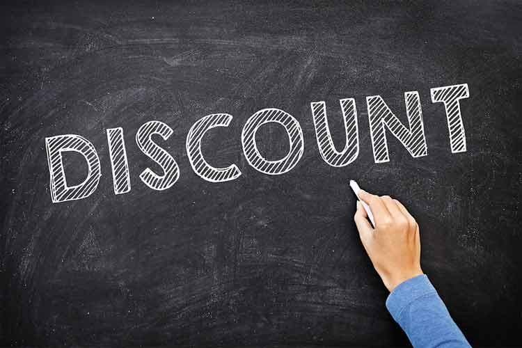 Different ways to get Discount