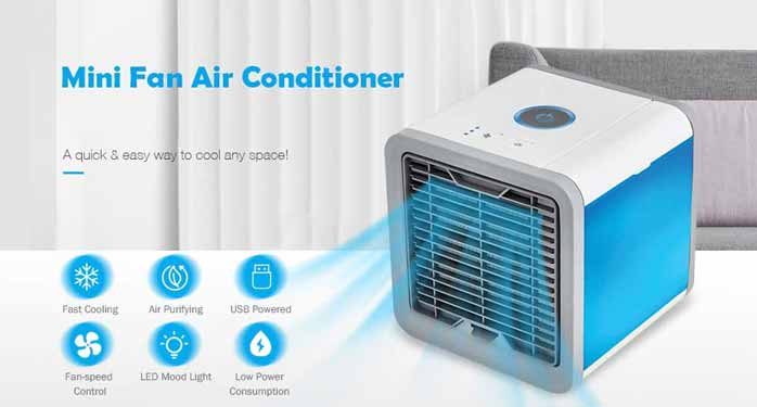 How Effective are Portable Mini Air Cooler
