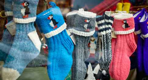 Production Of Rib-Knit Cuffs