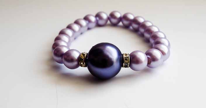 What is the Medium Length of Each Crystal In The Bracelet