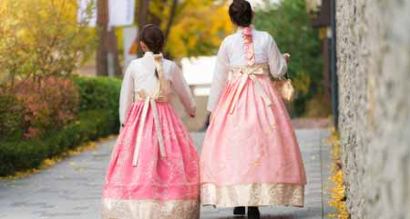 Components of Hanbok Dresses
