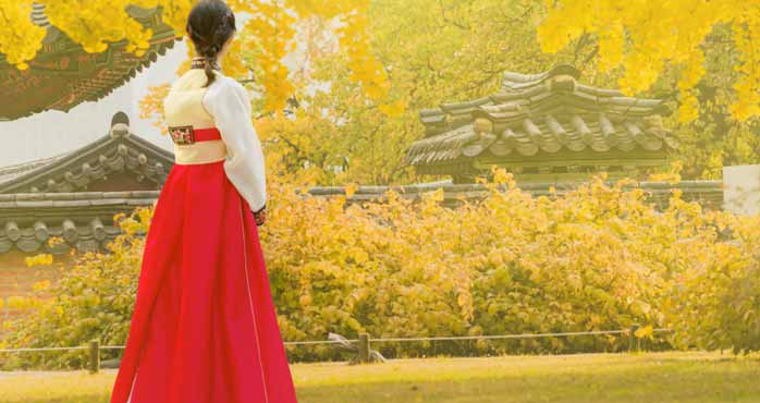 What is Hanbok Made Of
