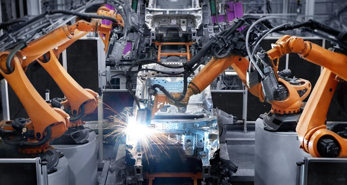 Robots and Production Machinery: A Changing Relationship