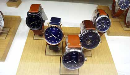 Men's Fossil Watches: Special Collections