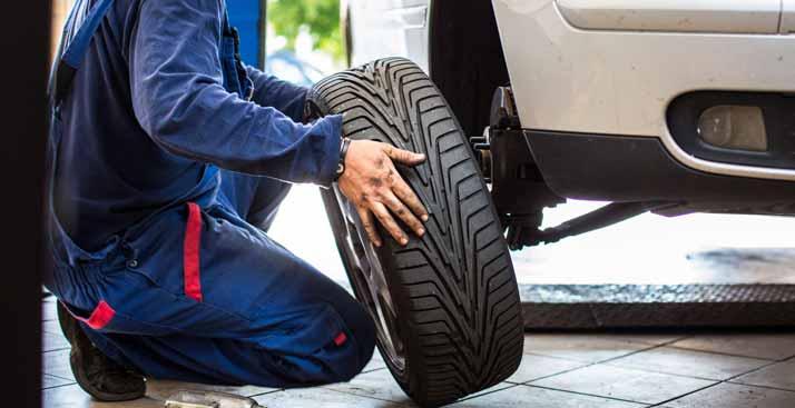 replacing an allow tire rim