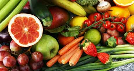balanced fruits